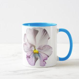 Coffee Mug - Ruffled Lavender Pansy