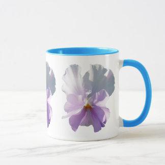 Coffee Mug - Ruffled Pink Pansy