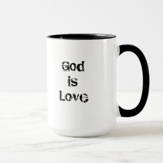 Coffee Mug Saint Rose of Lima God Is Love