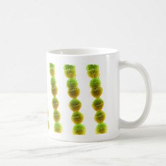 Coffee Mug - Streptococcus (green on white)