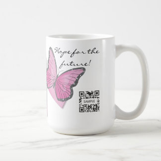 Coffee Mug Template Breast Cancer