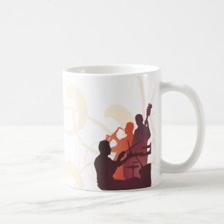 Coffee Mug Template Jazz Band