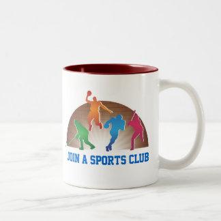 Coffee Mug Template School Athletics
