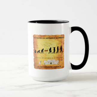 Coffee Mug This Smart Caveman Does Math