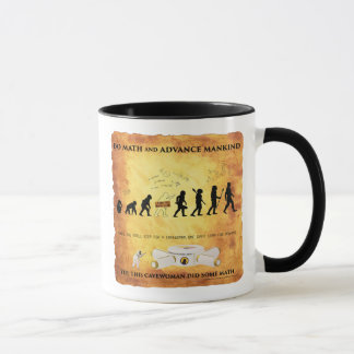 Coffee Mug This Smart Cavewoman Does Math