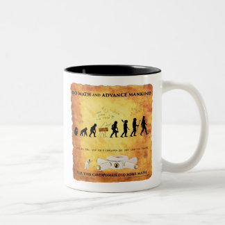 Coffee Mug This Smart Cavewoman Does Math