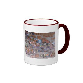 Coffee Mug--Train Station Tiles