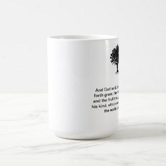 Coffee Mug Tree Silhouette