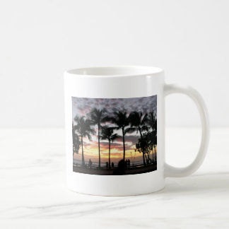 Coffee Mug - Tropical Sunset on Waikiki