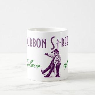 Coffee Mug Vintage Style Bourbon Street Pole Jazz
