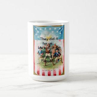 Coffee Mug w/ SPIRIT OF 76 They did it for us