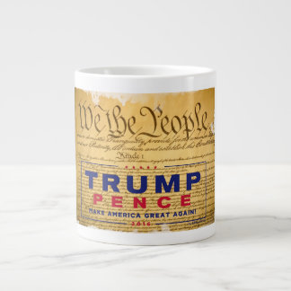 "Coffee Mug; ""We The People"" Trump-Pence Giant Coffee Mug"