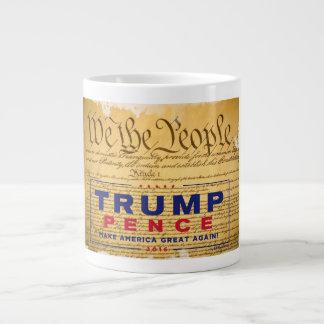 "Coffee Mug; ""We The People"" Trump-Pence Giant Coffee Mug"