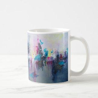 Coffee Mug with Breaking Boundaries Artwork