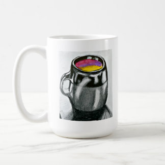 Coffee Mug with Coffee Mug Original Art