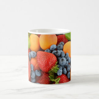 Coffee Mug with fresh and healthy berry