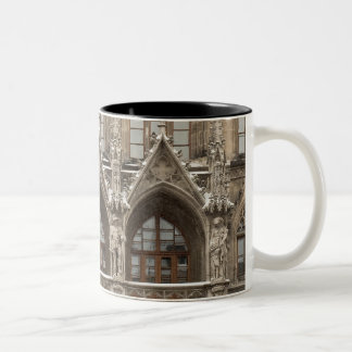 Coffee Mug with Gothic Revival Architecture
