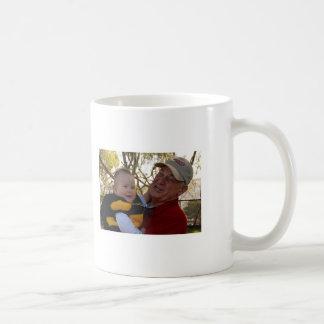 Coffee Mug with Jackson and Grandpa Bob Lessing