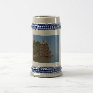 Coffee mug with lighthouse photo