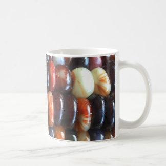 Coffee mug with Michigan grown corn