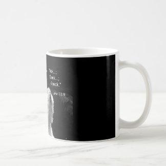 coffee mug with praying polar bear