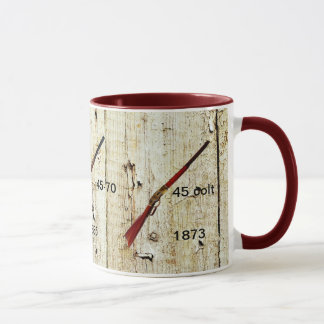 Coffee Mug with Rifles that won the West