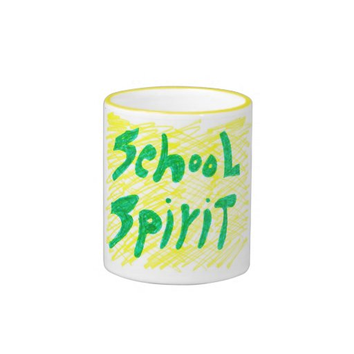 COFFEE MUG WITH SCHOOL SPIRIT