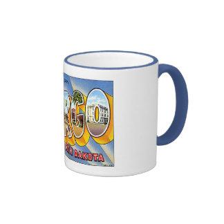 Coffee Mug With Vintage Fargo Graphic