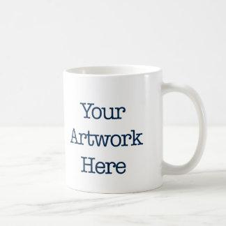 Coffee Mug with you Groffle Typography Artwork