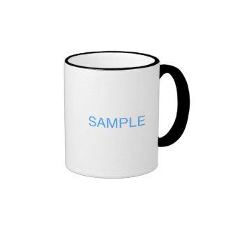 Coffee mugs taza a dos colores