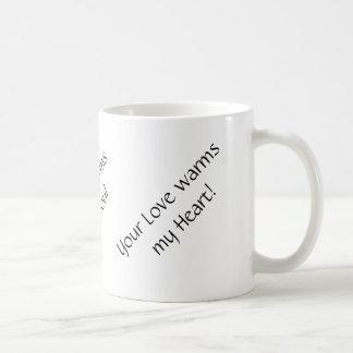 Coffee, Music, and Love Mug