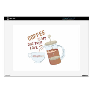 """Coffee My Love Skin For 15"""" Laptop"""