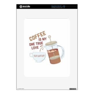 Coffee My Love Skins For The iPad