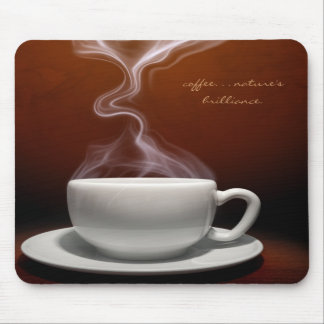 Coffee, Nature's Brilliance Mouse Pad