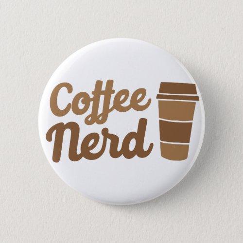 coffee nerd button