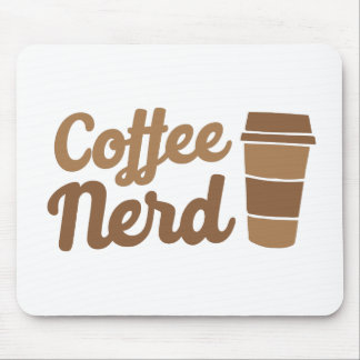 coffee nerd mouse pad