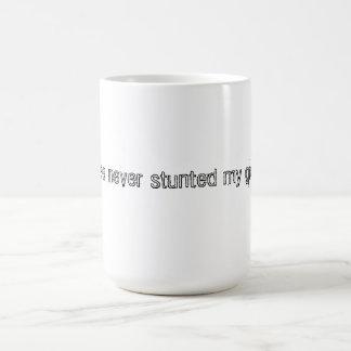 Coffee Never Stunted My Growth Mug