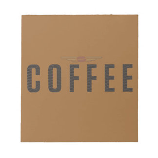 COFFEE NOTE PAD