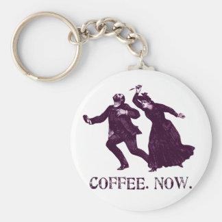 COFFEE. NOW. KEYCHAIN