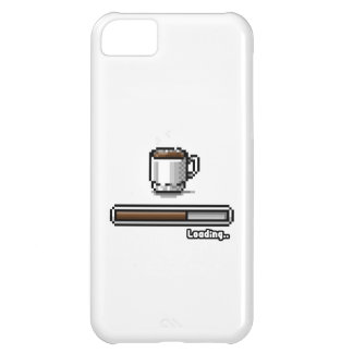 Coffee Now loading retro pixel art games style iPhone 5C Cases