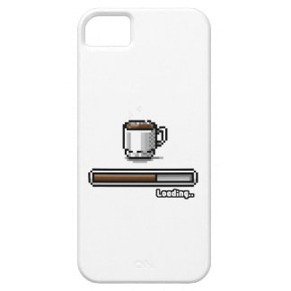 Coffee Now loading retro pixel art games style iPhone 5 Covers