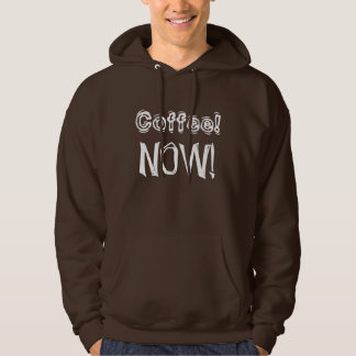 Coffee now - Senior citizens. Hoodie