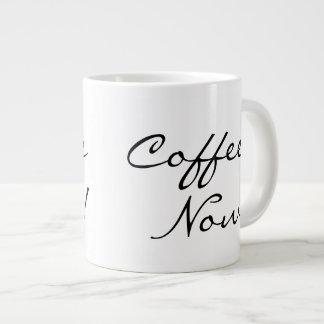 Coffee Now! 20 Oz Large Ceramic Coffee Mug