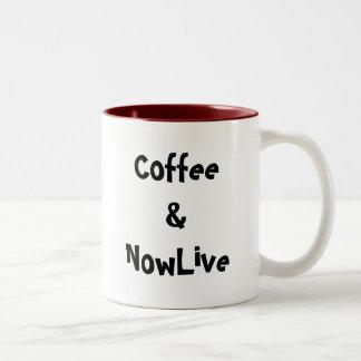Coffee & NowLive Coffee Mugs