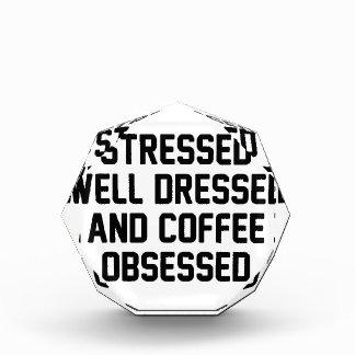 Coffee Obsessed Acrylic Award