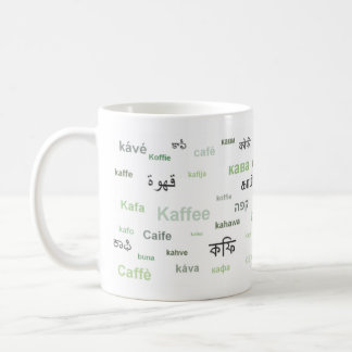 Coffee of the World Mug (in Green)
