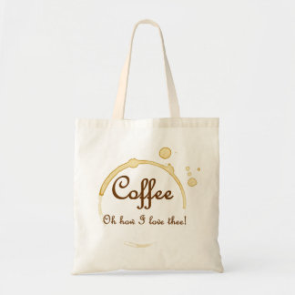 Coffee - Oh How I Love Thee! Canvas Bag