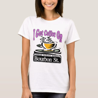 Coffee On Bourbon St. T-Shirt