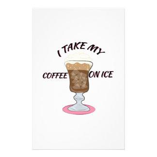 Coffee On Ice Stationery