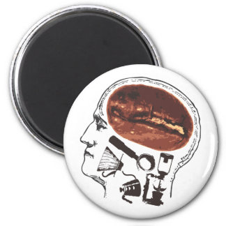 Coffee On the Brain Magnet